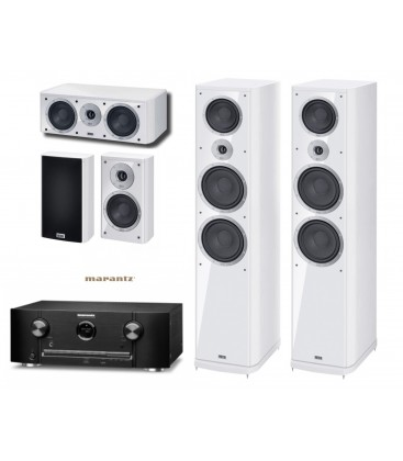 Receiver Marantz SR5012 Black cu Set de Boxe 5.1 Heco Music Style 1000