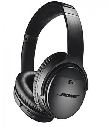 Casti Wireless cu Bluetooth si Noise Canceling Bose QuietComfort 35 Black II, Bluetooth, NFC, Google Assistant