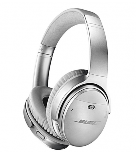 Casti Wireless cu Bluetooth si Noise Canceling Bose QuietComfort 35 Silver II, Bluetooth, NFC, Google Assistant