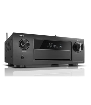 Receiver AV 11.2 Denon AVR-X6400H Black, Full 4K Ultra HD, HEOS, Dolby Atmos, DTS:X, HDCP2.2