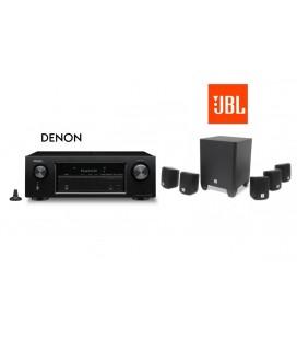 Receiver Denon AVR-X520BT cu set de Boxe 5.1 JBL Cinema 510
