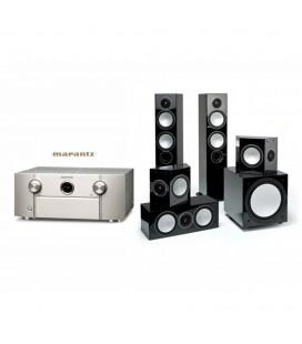 Receiver Marantz SR7010 cu Set Boxe 5.1 Monitor Audio Silver 6, Silver FX, Silver Center, Silver W12