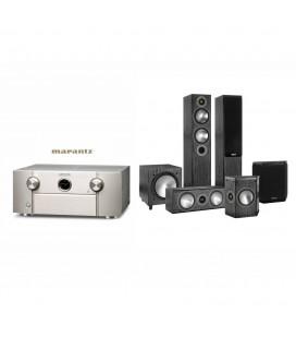 Receiver Marantz SR7010 cu Set Boxe 5.1 Monitor Audio Bronze 5, Bronze FX, Bonze Center, Bronze W10