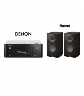 Network Receiver Stereo Denon Ceol RCD N9 Black cu Boxe de raft Quantum 673