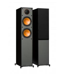 Boxe de podea Monitor Audio Monitor 200 Black 120W RMS, 88dB - pereche