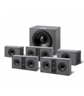 Set Boxe 5.1 Jamo D 600 Home Cinema System, THX® Ultra 2® standard®