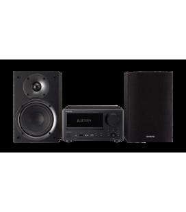 Micro Sistem Stereo Hi-Fi Mini Onkyo CS-375D Silver/Black, Bluetooth®, USB, DAB, Optical In