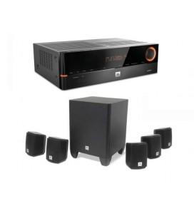 Network Receiver 5.1 JBL AVR101N + Set Boxe 5.1 JBL Cinema 510