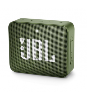 Boxa wireless portabila cu Bluetooth® JBL GO 2 Moss Green, IPX7 Waterproof