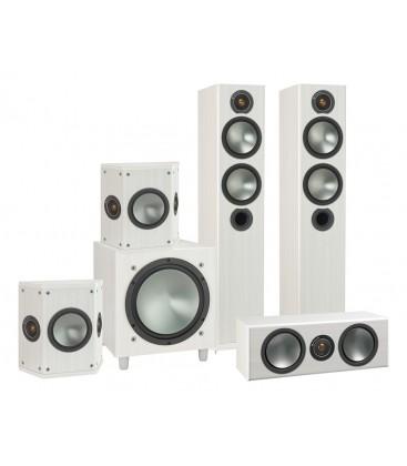 Set de boxe 5.1 Monitor Audio Bronze 5, Bronze FX, Bronze W10 WHITE PACK
