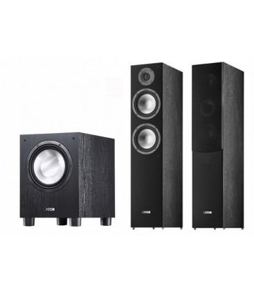 Bluetooth® Receiver 5.2 Denon AVR-X550BT Black cu Boxe de podea CANTON SP 706