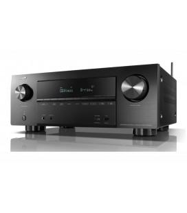 Receiver AV 7.2 Denon AVR-X2500H, 150W per channel, HEOS built-in, Wi-Fi, Airplay, Bluetooth, 4K Ultra HD, Hi-Res