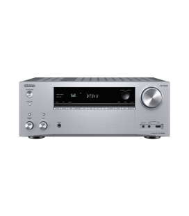 Network A/V Receiver 7.2 Onkyo TX-NR686 Silver, DTS:X, Dolby Atmos®, Chromecast, Bluetooth, Wi-Fi®, Spotify, FlareConnect