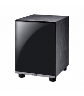 Subwoofer Activ Magnat Shadow Sub 300A Piano Black, bass reflex, 160W RMS, DownFire