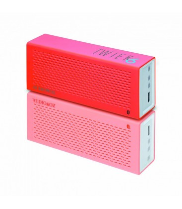 Boxe wireless Audiovox TWIEK6 Pink, boxa portabila bluetooth
