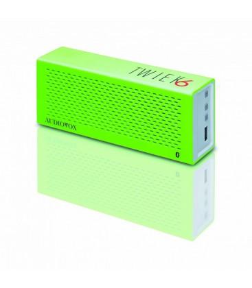 Boxe wireless Audiovox TWIEK6 Green, boxa portabila bluetooth