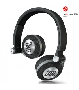 Casti JBL E30 black, casti on ear cu microfon