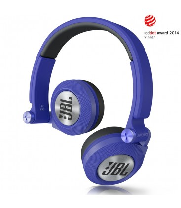 Casti JBL E30 blue, casti on ear cu microfon