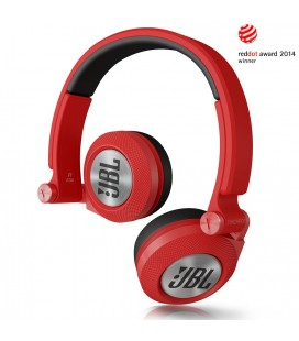 Casti JBL E30 red, casti on ear cu microfon