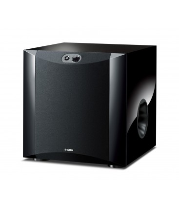 Subwoofer Yamaha NS-SW300 piano black, subwoofer activ