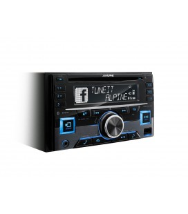 Mp3 player auto Alpine CDE-W296BT, 2 DIN
