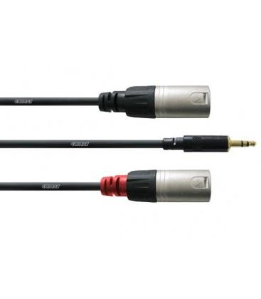 Cordial CFY 3 WMM Long cablu adaptor Y