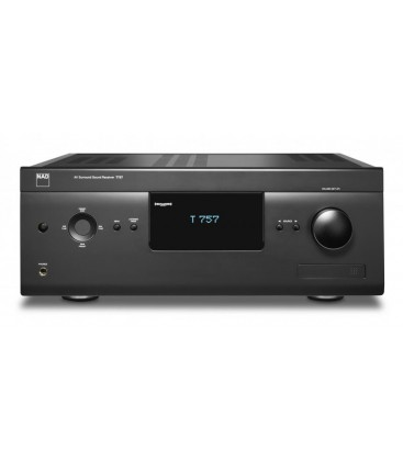 NAD T 757, receiver A/V surround 7.1 canale 3D ready