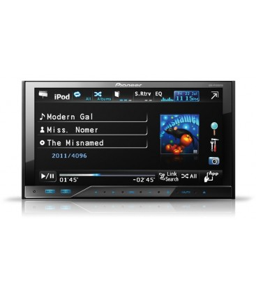 Pioneer AVH-P4300DVD, dvd player auto 2 DIN