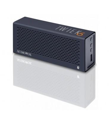 Boxe wireless Audiovox TWIEK6 Black, boxa portabila bluetooth