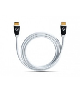 Cablu HDMI Oehlbach 119 Easy Connect White 1.4c, 1.2m