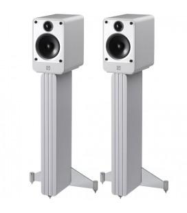 Q Acoustics Concept 20 White + standuri, boxe de raft - pereche