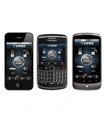 Viper SmartStart DSM250i -iphone, BlackBerry, Android