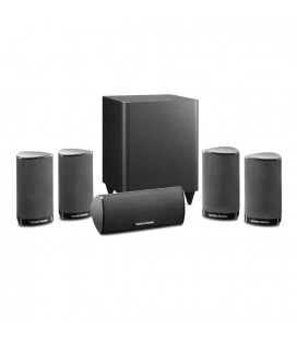 Boxe Harman Kardon HKTS 5 BQ, set boxe 5.1 surround