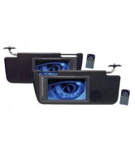 Parasolar Auto cu Monitor Pyle PLVS72TBK