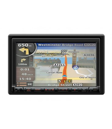 Macrom M-DVD7702R, dvd player auto 2 DIN cu navigatie