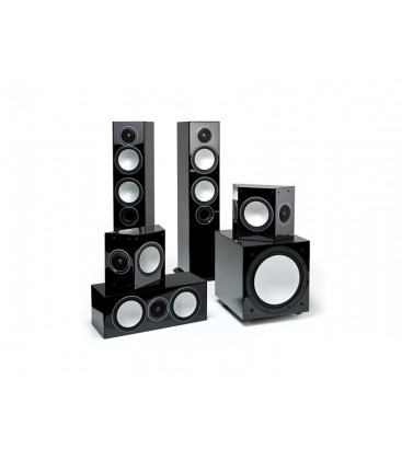 Boxe Monitor Audio Silver 6+FX+Centre+W12, set 5.1 surround