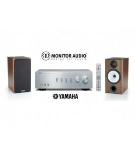 Amplificator Yamaha A-S301 + Boxe Monitor Audio BX2