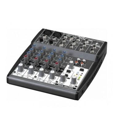 Mixer Behringer XENYX 802, audio profesional analog