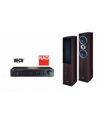 Amplificator NAD C 316 BEE + Boxe Heco Victa Prime 502