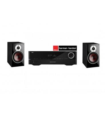 Receiver Stereo Harman Kardon HK 3770 + Boxe Dali Zensor 3