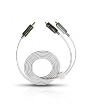 Cablu Oehlbach 90565 MP3! 3.5 Plug to 2 Cinch, jack-2RCA 5.0m