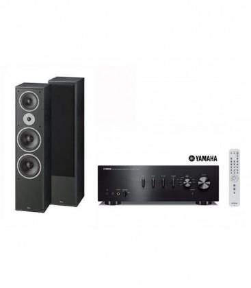 Amplificator Stereo Yamaha A-S301+Boxe Magnat Supreme 1002