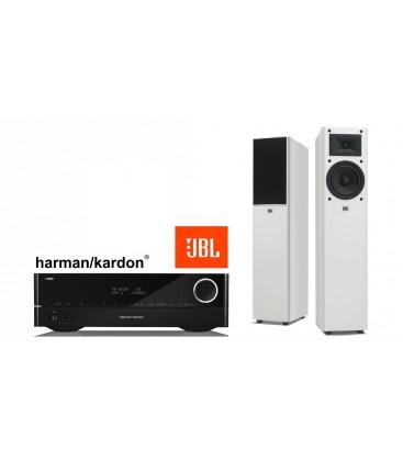 Receiver stereo Harman Kardon HK 3700 cu Boxe JBL Arena 170