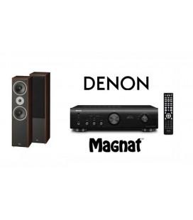 Amplificator Denon PMA-520 cu Boxe Magnat Supreme 802
