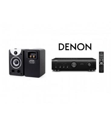 Amplificator Denon PMA-520AE cu Boxe Dynavoice Magic S4 EX Black