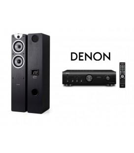 Amplificator Denon PMA-520AE cu Boxe Boxe Dynavoice Magic F6 EX Blac