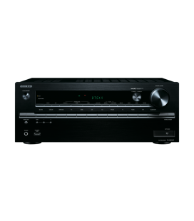 Network AV Receiver Onkyo TX-NR747 Black 7.2 surround UHD 4K, Wi-fi, THS, Bluetooh