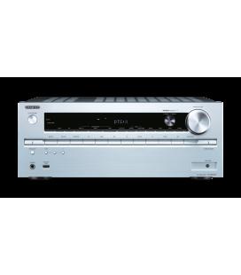 Network AV Receiver Onkyo TX-NR747 Silver 7.2 surround UHD 4K, Wi-fi, THS, Bluetooh
