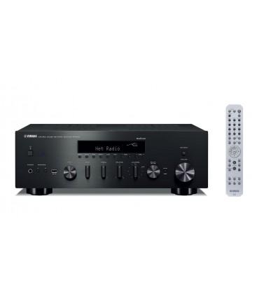 Receiver Stereo Yamaha R-N602 Black, Wi-Fi, Bluetooth, Airplay, MusicCast