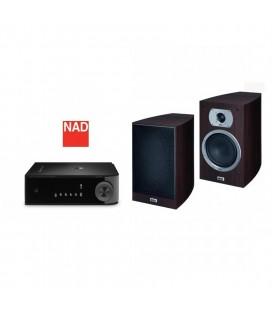 Amplificator stereo NAD D3020 cu Boxe Heco Victa Prime 302